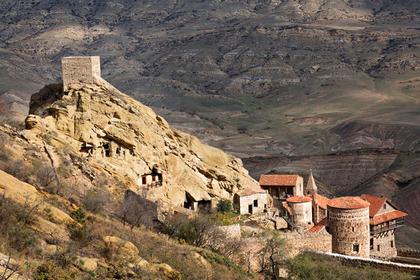 Монастырь спровоцировал пограничный конфликт между Грузией иАзербайджаном