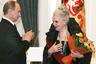 За свою карьеру в театре и кино Быстрицкая стала лауреаткой десятка разнообразных правительственных наград, включая звание Народной артистки СССР. Самыми важными для себя она, впрочем, считала медали за участие в Великой Отечественной войне.