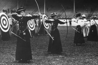 Лучницы на Олимпийских играх 1908 года