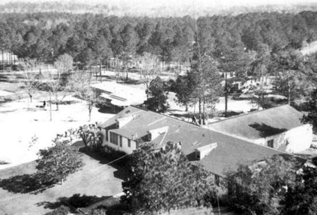 Индустриальная школа для мальчиков во Флориде, позже переименованная в школу Артура Дж. Дозье. 1949-1950 гг.