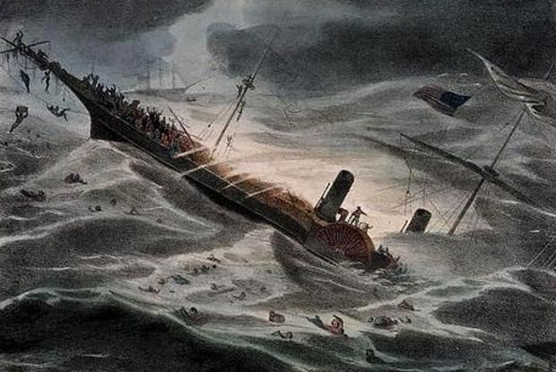 Гибель парохода «Центральная Америка»