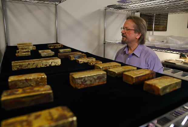 Золото с парохода «Центральная Америка»