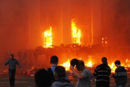 Пережившего пожар в Доме профсоюзов украинца выдворят из России