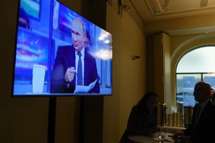 Кремль назвал сроки проведения прямой линии с Путиным