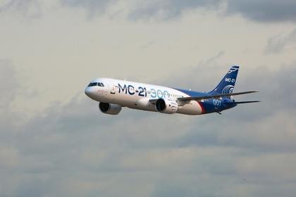 Появилось видео полета «российского самолета XXI века»