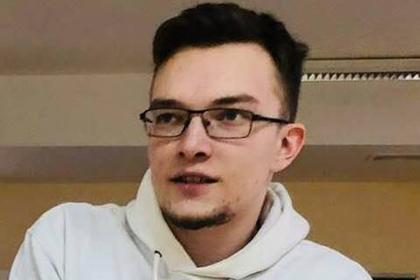 Студент Югорского госуниверситета Глеб Черный