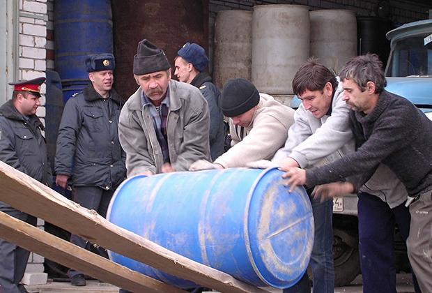 Ликвидация цеха по производству подпольной водки