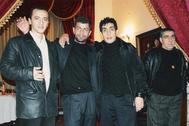 Зап Ленинаканский (второй справа), один из наиболее влиятельных воров в законе в Армении