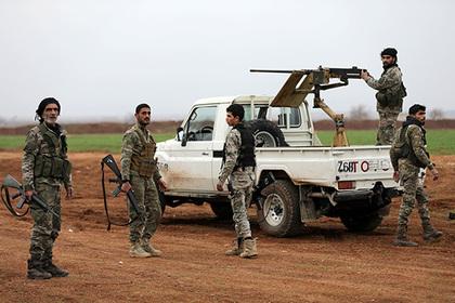 Курдские силы атаковали турецкую базу в Алеппо