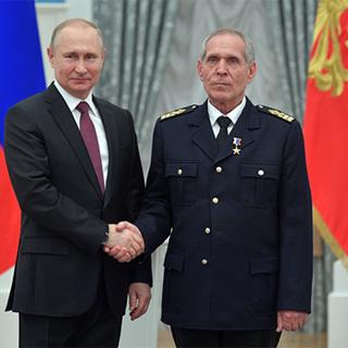 Владимир Путин и Сергей Антонов