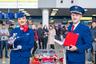 На открытии выставки, посвященной дню рождения лайнера, для пассажиров была проведена беспроигрышная лотерея, главным призом которой стала модель воздушного судна — точная копия «Леолета» в масштабе 1:100.