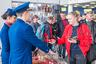 Пассажиры различных авиакомпаний с большим интересом осмотрели выставку и с огромным удовольствием участвовали в лотереи, посвященной двухлетию «Леолета».