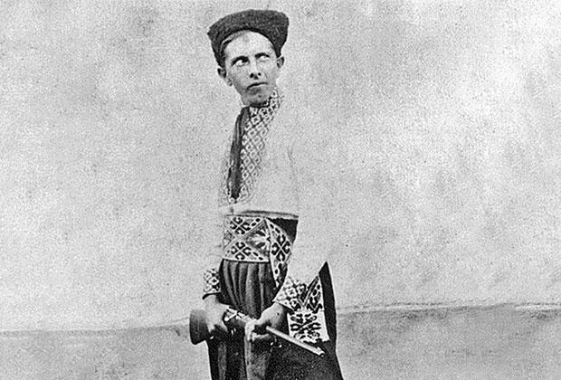 Степан Бандера — пластун куреня «Червона Калина». Фото 1929 или 1930 года