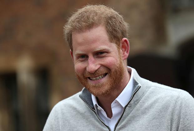 Принц Гарри объявляет о рождении сына