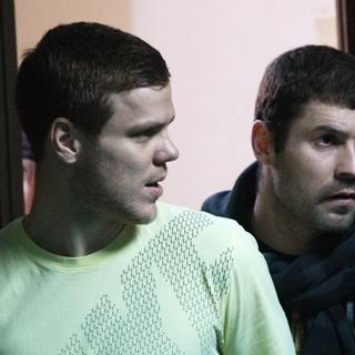 Александр Кокорин (слева)