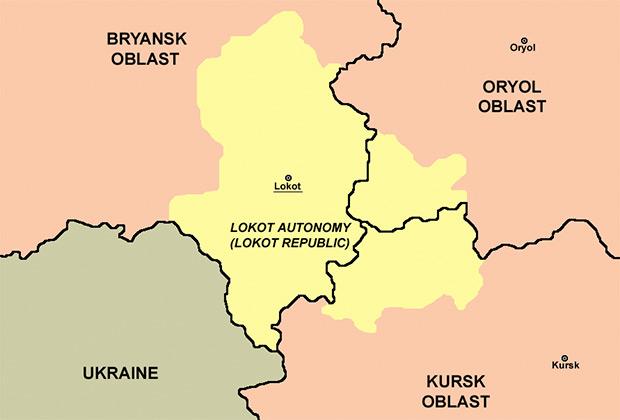 Границы Локотского самоуправления
