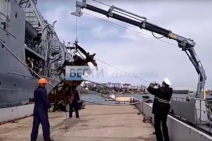 Со дна Черного моря поднят истребитель СССР