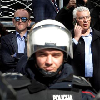 Милан Кнежевич (слева) и Андрия Мандич