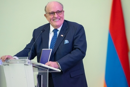 Адвокат Дональда Трампа и бывший мэр Нью-Йорка Рудольф Джулиани
