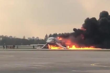 Сгоревший в Шереметьево Sukhoi Superjet 100