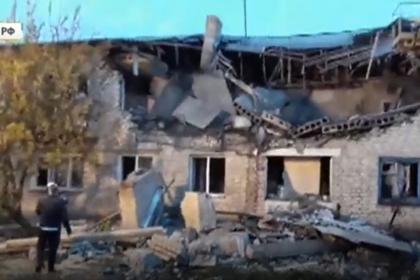 Опубликовано видео с места взрыва газа в Ростовской области