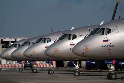Названа причина возвращения в Шереметьево летевшего в Самару SSJ-100