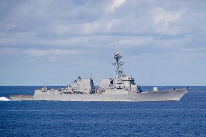 Эсминец США с «Томагавками» вышел на патрулирование в Финский залив