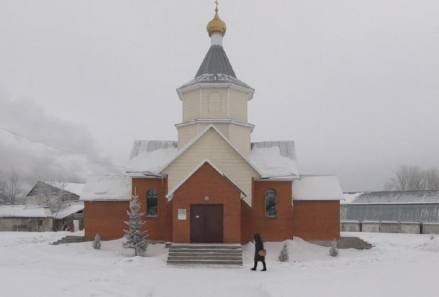 Храм Богоявления Господня в селе Черемное