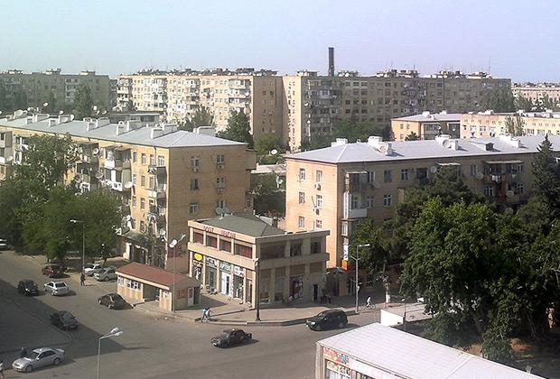 Поселок Бакиханов