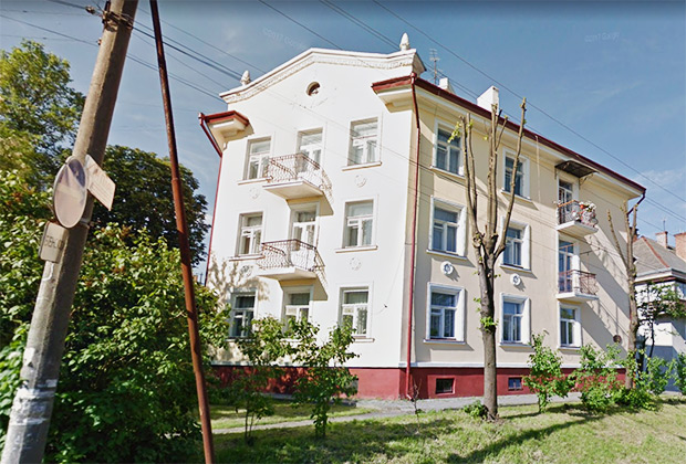 Дом на Бориславской улице в городе Дрогобыч, Украина