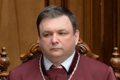 Экс-глава КС Украины Станислав Шевчук