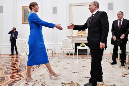 Президент Эстонии поведала обошибке Прибалтики вотношениях сРоссией
