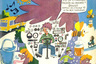 О любви советских детей к «Мурзилке» и популярности издания говорят частые упоминания о нем в детских произведениях. Дети всего СССР помнили, как дядя Федор сообщил почтальону Печкину о желании выписывать «Мурзилку».