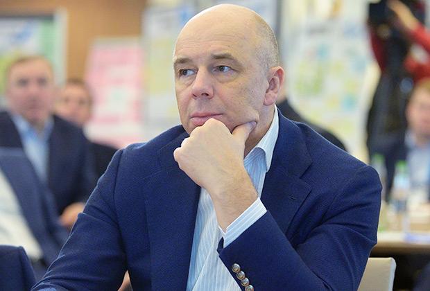 Первый заместитель председателя правительства РФ, министр финансов Антон Силуанов на выездном совещании «Национальные проекты— этап реализации»