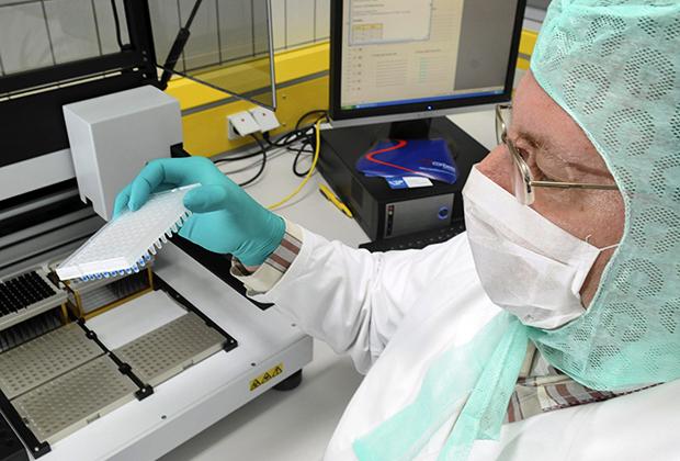 Анализ проб ДНК