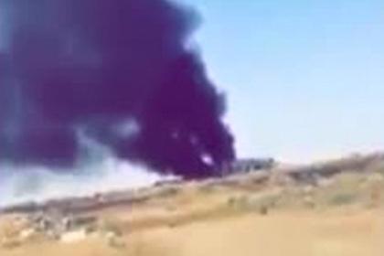 Опубликовано видео последствий атаки беспилотников в Саудовской Аравии