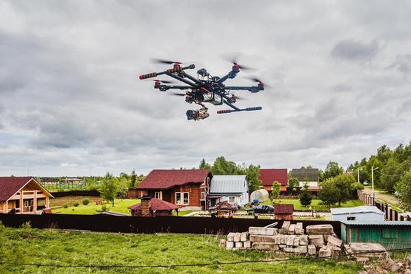 За дачниками начнут следить спомощью дронов