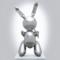 Скульптура Джеффа Кунса «Кролик»