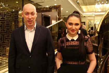 Дмитрий Гордон и Олеся Бацман