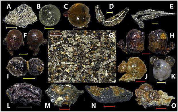 Частицы под микроскопом