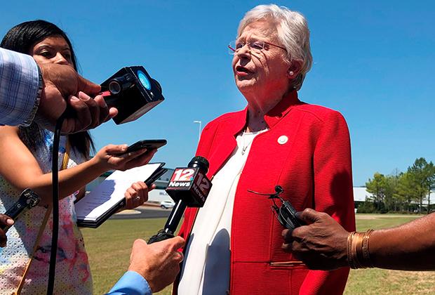 Губернатор штата Алабама Кей Айви