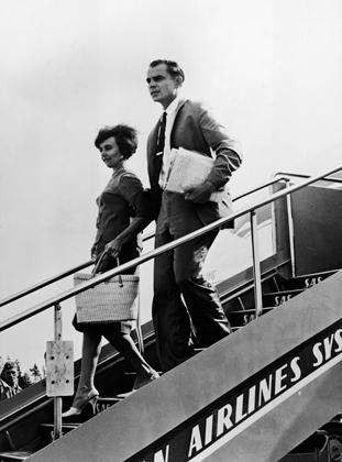 Шерри Финкбайн с мужем Робертом. Швеция, 1962 год