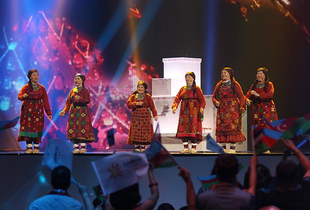 Фольклорный коллектив «Бурановские бабушки», «Евровидение-2012»