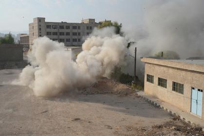 Сирийские ПВО отразили обстрел Дамаска