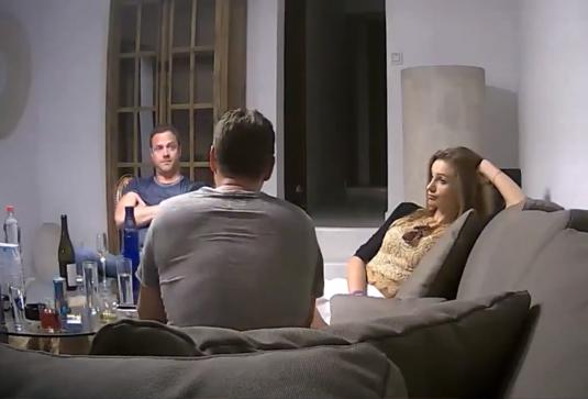 Кадр из скандального видео, снятого скрытой камерой