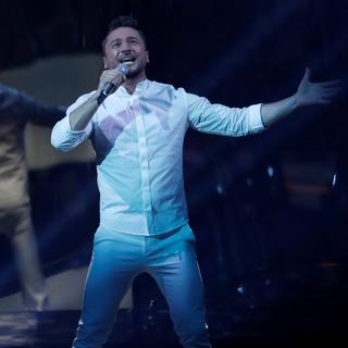 Сергей Лазарев занял третье место с результатом 369 баллов.