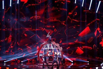 В прямом эфире «Евровидения» в Израиле подняли флаги Палестины