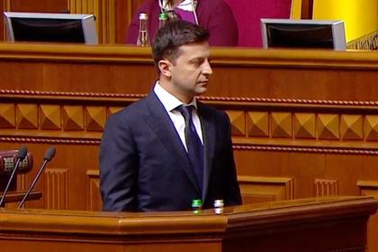Зеленский принес присягу украинскому народу