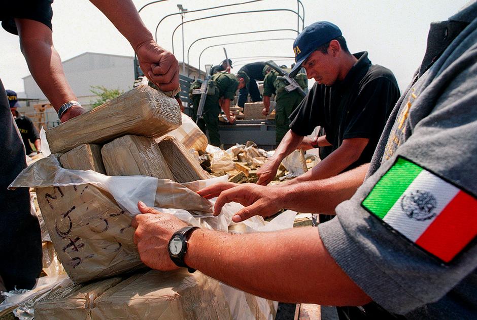 Полиция Мексики готовится сжечь 2,5 тонны наркотиков