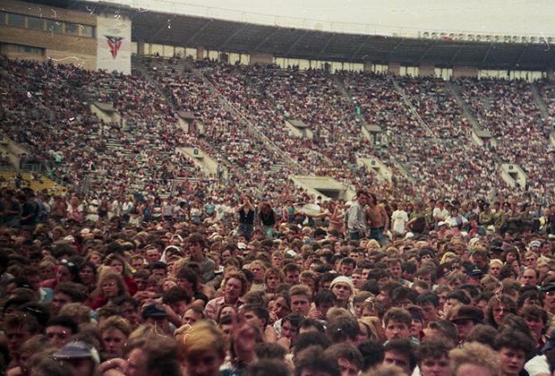 12-13 августа 1989 года. Лужники. Стадион им. В.И.Ленина. Московский музыкальный фестиваль мира
